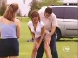 Eine sexy Golfstunde