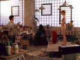 Laura Linney as nude model