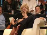 Courtney Love upskirt in a TV-Show